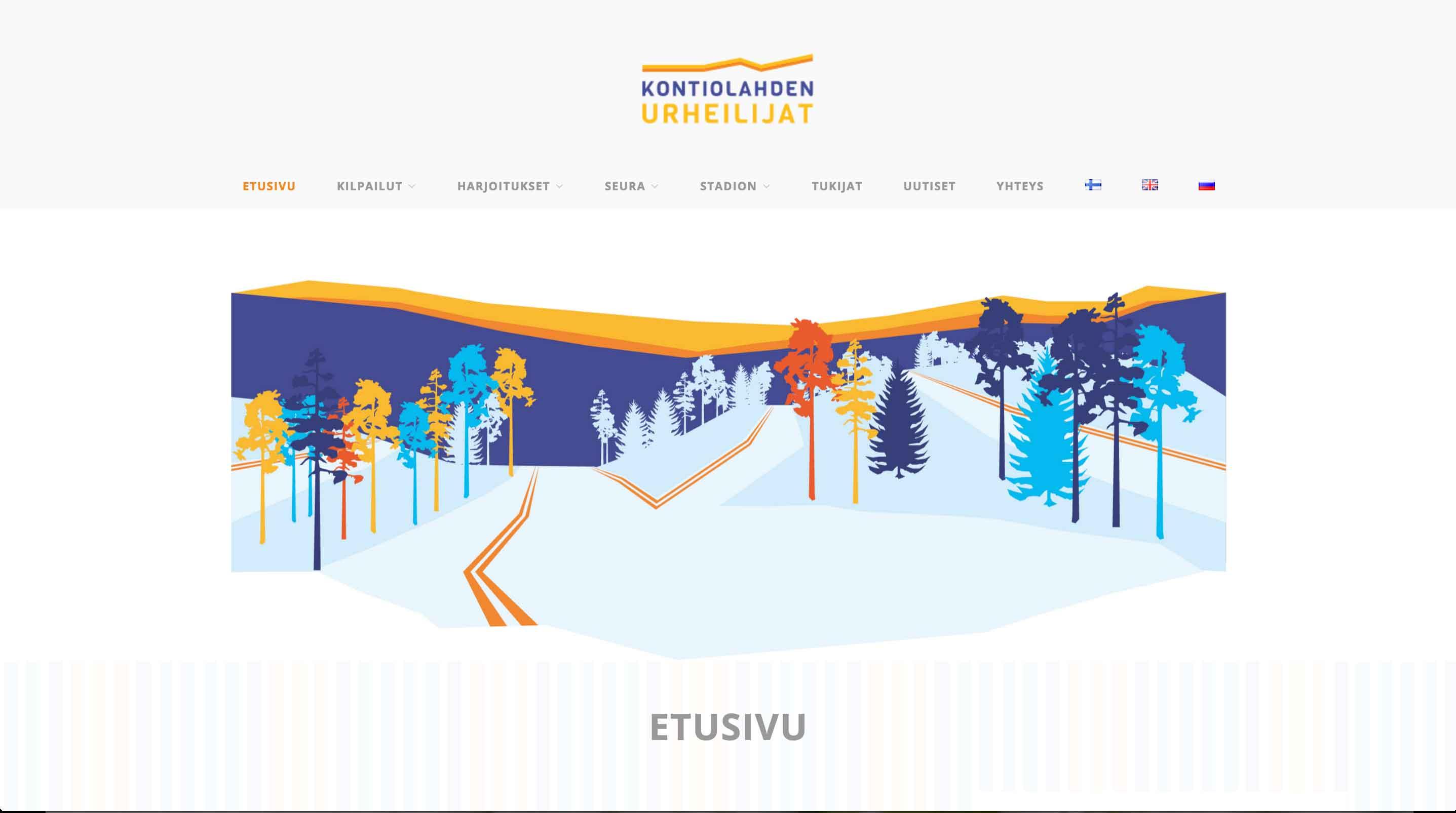 Kontiolahden Urheilijat, www-sivut (Kodeka)