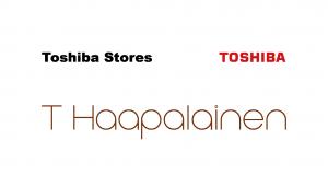 Toshiba Stores T Haapalainen, logo